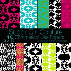 Sugar Girl Couture Papers