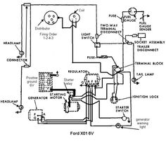 ford 600 tractor wiring diagram ford tractor series 600 electric rh pinterest com Ford 3000 Tractor Wiring Diagram Ford Tractor Wiring Diagram