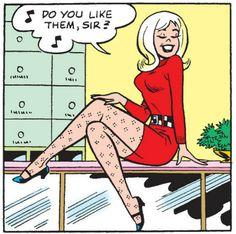 Do you like them, sir? Archie Comics Characters, Archie Comic Books, Comic Book Characters, Comic Books Art, Comic Art, Comic Book Panels, Comic Book Covers, Girl Cartoon, Cartoon Art