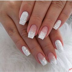 Summer Acrylic Nails, Best Acrylic Nails, Spring Nails, Cute Nails For Spring, Acrylic French Manicure, French Toe Nails, French Nail Art, Summer Nails, Simple Nail Designs