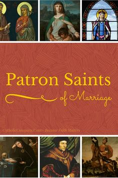 Heroes and Homemakers: 10 Patron Saints of Marriage Catholic Marriage, Catholic Books, Catholic Wedding, Catholic Quotes, Catholic Prayers, Catholic Saints, Marriage And Family, Patron Saints, Happy Marriage