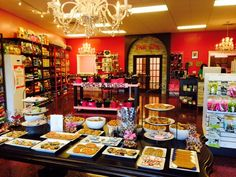 Woof Gang Bakery Wichita, we love visitors, stop in soon! Dog Bakery, Doggy Stuff, Dog Biscuits, Dog Treats, Best Dogs, Kansas, Store, Interior, Indoor