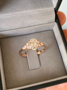 Oval diamond engagement ring rose gold custommade Diamond Jewelry, Gold Jewelry, Oval Diamond, Wholesale Jewelry, Diamond Engagement Rings, Jewelry Gifts, Wedding Rings, Rose Gold, Pendants