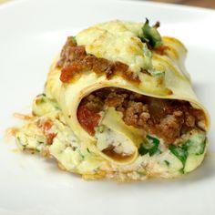 Lasagne Roll-Ups Recipe by Tasty