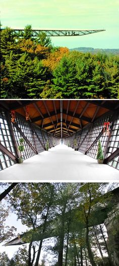 house on the rock infinity room - Spring Green, Wisconsin - enjoyed this crazy place! Alex Jordan did not live in the house long but he built all himself. Loved to collect everything and by everything I mean everything! Oh The Places You'll Go, Places To Travel, Places Ive Been, Places To Visit, Infinity Room, Sky Walk, Wisconsin Dells, Wisconsin Vacation, House On The Rock