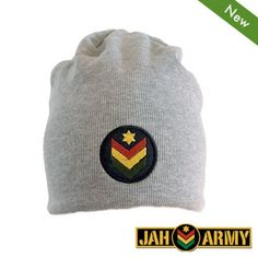 Jah Army – Summer Beanie – grey