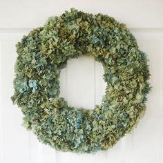 Sherbet Hydrangea Wreath