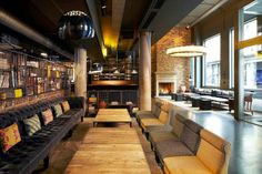 The Hoxton Hotel, Shoreditch - a wonderfully quirky hotel in London :-)