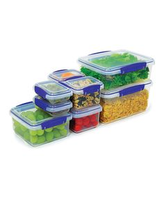 Look at this Eight-Piece Container Set on #zulily today!