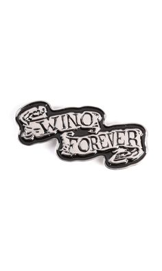Wino Pin Badge #disturbiaclothing disturbia winona johnny metal silver alien goth occult grunge alternative punk