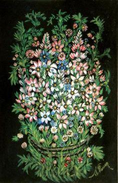 Séraphine de Senlis 1864-1942 GRAND BOUQUET CHAMPÊTRE