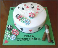 sweet4happiness: Tarta Poker......