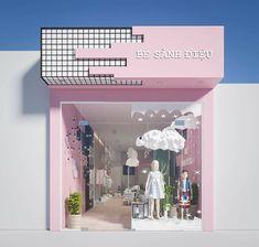 Exterior design store fronts 29 new Ideas Design Shop, Shop Front Design, Shop Interior Design, Display Design, Cafe Design, Exterior Design, Boutique Interior, Font Shop, Retail Store Design