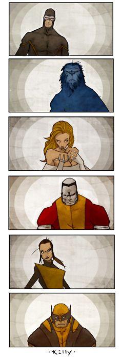 Astonishing X-Men (Artist Unknown)
