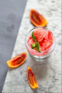 Sorbet orange sanguine pomme ©Edda Onorato