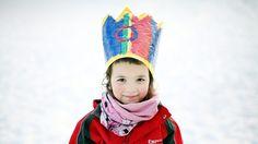 I dag er det samenes nasjonaldag - NRK Sápmi - NRK // today is the national day of the Sami, the indiginous people of norway! Creative Kids, Norway, Barn, Arctic, Scandinavian, Art Projects, People, February, Craft Ideas