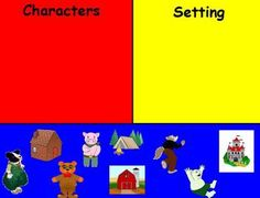 Free! This short flipchart for Promethean Board is a fun way to address story elements character