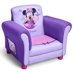 Delta Childrens Delta Children's Products Disney Minnie Mouse Kids Club Chair - Baby - Toddler Furniture - All Toddler Furniture Kids Playroom Furniture, Toddler Furniture, Kids Rooms, Chair And Ottoman Set, Toddler Chair, Kids Bookcase, Delta Children, Chair Fabric, Upholstered Chairs
