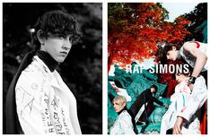 Raf Simons Fall/Winter 2015 Campaign: The Writings on the Clothes
