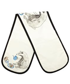 BADGER TEA PARTY OVEN GLOVE, MELLOR WARE