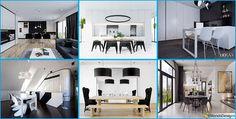 Sala Da Pranzo Bianca e Nera: 25 Idee per un Arredamento Chic | MondoDesign.it