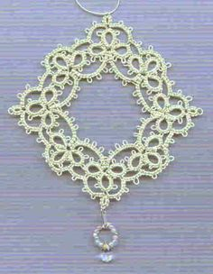 Just for Stephanie! :0)     This is another easy pattern, basically just clovers and chains. It has the never-ending-outside-chain with moc...