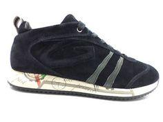 #Guardiani #sneakers #blu #camoscio #zooode