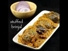 ennegayi | stuffed brinjal | bharli vangi | bharwa baingan recipe
