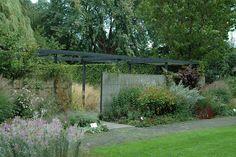 Mien Ruys ~ Dedemsvaart is a village in Overijssel, the Netherlands.                _/\/\/\/\/\_ Formal Gardens, Outdoor Gardens, Gilles Clement, Outdoor Spaces, Outdoor Living, Landscape Design, Garden Design, Private Garden, Garden Landscaping