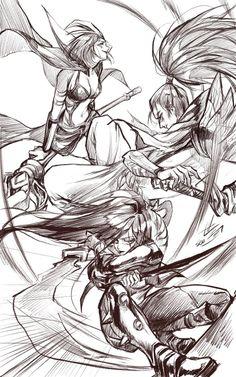 League of Legends fanart1 by seo-love