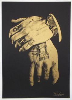 ✝ hand tattoos