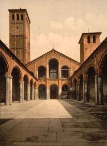 #Milan, Basilica di S. Ambrogio