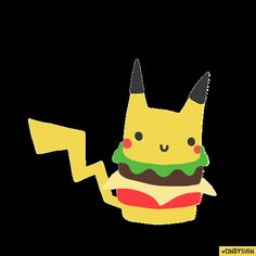 Pikaburger by cindysuen
