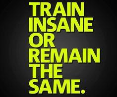 Train Insane or....