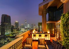Bangkok Rooftop Bar | The Speakeasy | Hotel Muse Bangkok I wonder if I can drink my way trough all the gorgeous rooftop bars in Bangkok? Merely for research purposes so I can compare to NYC.