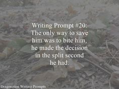 Writing Prompt Dragonition 20