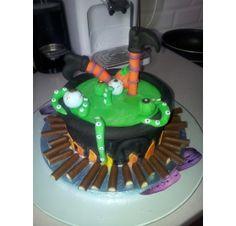 Réalisez un gâteau pour Halloween : Stéphanie F