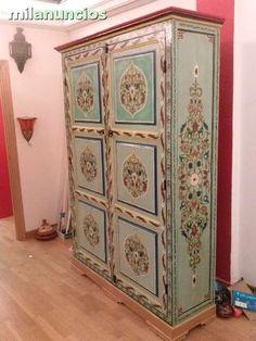 Mil anuncios com armario artesanal pintado a mano - Milanuncios muebles antiguos ...