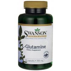 Swanson Premium L-Glutamine 500mg 100 Cap
