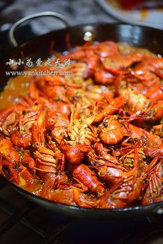 Asian Style Hot and Spicy Crawfish — Yankitchen How To Cook Crawfish, Cajun Seafood Boil, Crawfish Recipes, Spicy Seafood Recipes, Shellfish Recipes, Asian Recipes, Asian Crab Boil Recipe, Seafood, Kitchens