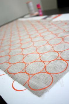 How ToCreate Your Own Printed Fabric with Toilet Paper Rolls