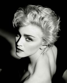 Madonna 1986 True Blue Photo by Herb Ritts