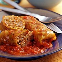 Weight watchers cabbage rolls.  http://www.missionariesofprayer.org/prayers/