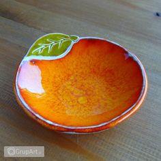 Grupart.pl - Ceramiczna pomarańcza - fusetka - Wnętrze - Ceramika