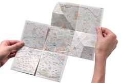 An Ingenious Paper Map Zooms In Just Like Google   Co.Design: business + innovation + design