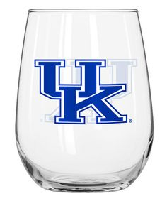 Look what I found on #zulily! Kentucky Wildcats 16-Oz. Curved Glass #zulilyfinds