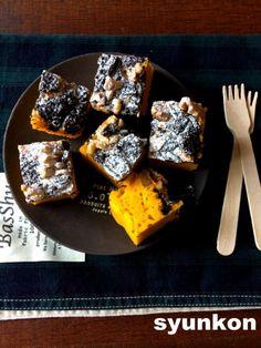 【ハロウィンに】レンジで3分!タッパーで*かぼちゃとオレオのケーキ(ホットケーキミックス使用) | 山本ゆりオフィシャルブログ「含み笑いのカフェごはん『syunkon』」Powered by Ameba