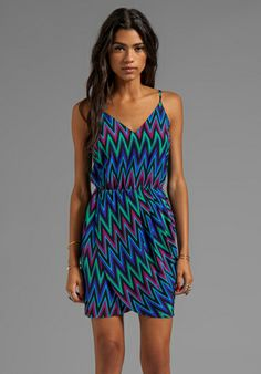 AMANDA UPRICHARD Madison Dress in Zig Zag - Dresses