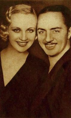 Carole Lombard (1908-1942) and William Powell (1892-1984)