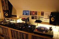 Definitely need to rebuild my DJ setup to something close to this soon!